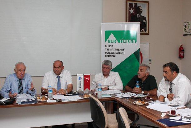 TİMFED Yönetim Kurulu Toplantısı Bursa'da Gerçekleştirildi
