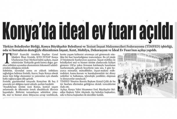 Konya Gözde Gazetesi