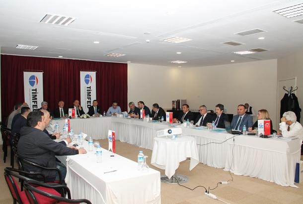 TİMFED Yönetim Kurulu Toplantısı İstanbul'da Gerçekleştirildi