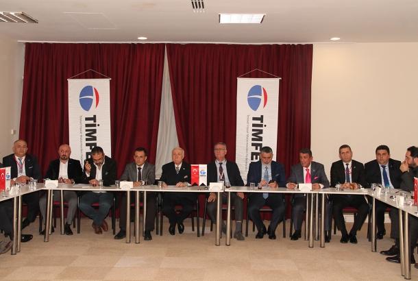 TİMFED 2019'un İlk Yönetim Kurulu Toplantısını Gerçekleştirdi