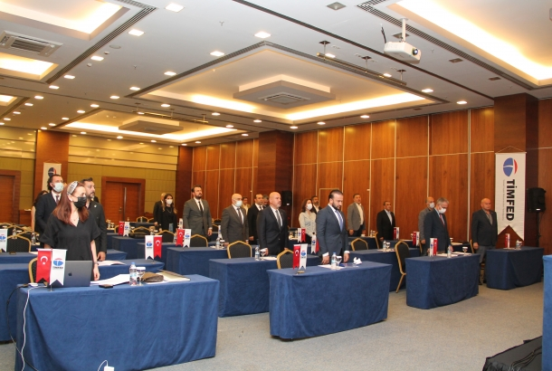 TİMFED'in 8. Olağan Genel Kurul Toplantısı Gerçekleşti