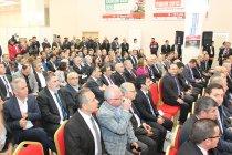 TİMFED Yönetim Kurulu Samsun İnşaat Fuarı 2015'i Ziyaret Etti