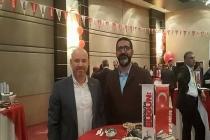 Anadolu'da Bugün Gazetesi 4. kuruluş yıldönümü kokteyline Genel Sekreterimiz Hüseyin Uslu ve Yönetim Kurulu Üyemiz Gökhan Küçük katıldı.