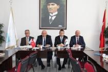 TİMFED Yönetim Kurulu Toplantısı Konya İnşaat Fuarında yapıldı.