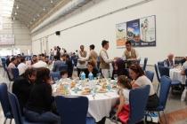KONTİMDER Üyeleri Konya İnşaat Fuarında yemekte biraraya geldi.