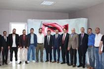 Konya Vergi Dairesi Başkanı ziyaretimize geldi.