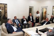 TİMFED Yönetim KuruluOkumuşlar Yapı Malzemelerini Ziyaret Etti