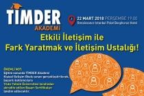 TİMDER Akademi'de 22 Mart Perşembe: Etkili İletişim ile Fark Yaratmak ve İletişim Ustalığı