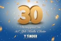 Derneğimizin 30. Yılı Kutlu Olsun