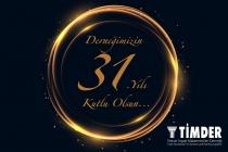 Derneğimizin 31. Yılı Kutlu Olsun