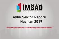 Türkiye İMSAD Haziran 2019 Sektör Raporu Açıklandı