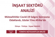 Türkiye Müteahhitler Birliği, İnşaat Sektörü Analizini Açıkladı