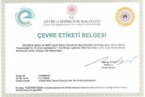 Çevre ve Şehircilik Bakanlığı'ndan VitrA Karo'ya Sektörünün İlk, Ülkemizin İkinci Çevre Etiketi Belgesi