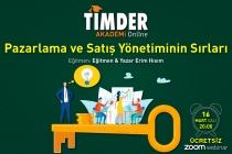TİMDER Akademi'de 16 Mart Salı; Pazarlama ve Satış Yönetiminin Sırları