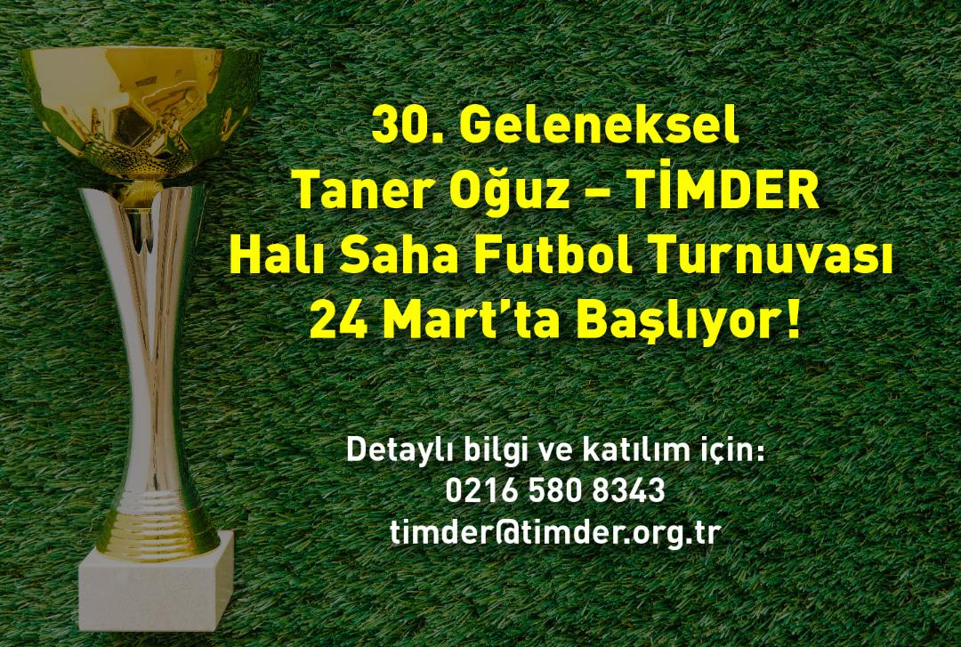 Taner Oğuz - TİMDER Halı Saha Futbol Turnuvası