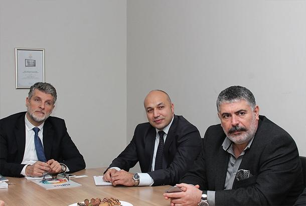 TİMDER Yönetim Kurulu Teka Genel Müdürü'nü Ziyaret Etti