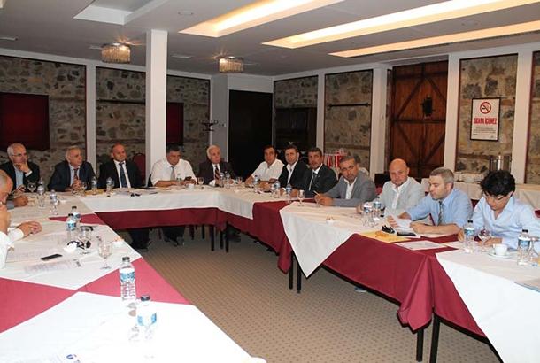 Ağustos Ayı Toplantısı Bursa Otantik Otel'de Gerçekleşti