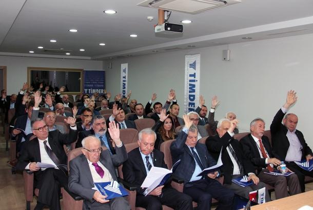 TİMDER 20. Olağan Genel Kurul Toplantısı Yapıldı