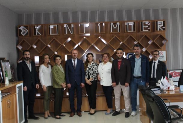 Konya İş Kadınları Derneği Yönetim Kurulu Üyeleri ziyaretimize geldi.