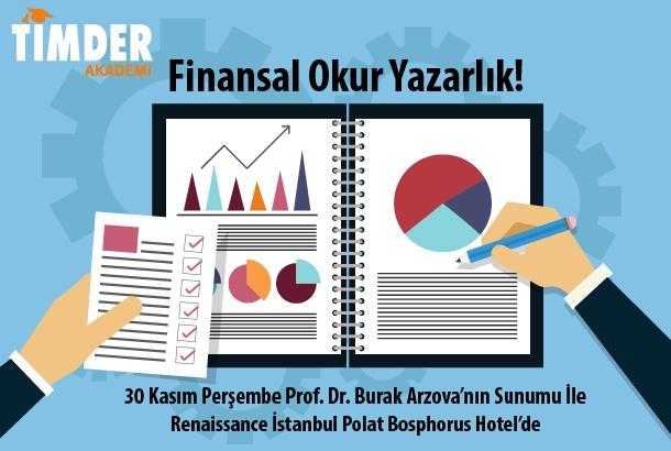 TİMDER Akademi'de 30 Kasım Perşembe: Finansal Okur Yazarlık!