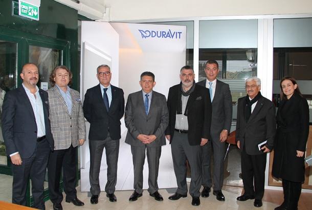 TİMDER Yönetim Kurulu Duravit Türkiye'yi Ziyaret Etti