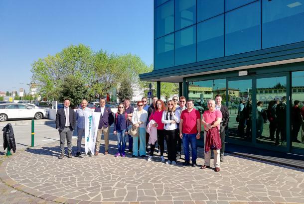 Baymak Proje Ortakları ile İtalya'da DAB Firmasını Ziyaret Etti