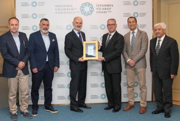 TİMDER Yönetim Kurulu İstanbul Ticaret Odası'nı Ziyaret Etti
