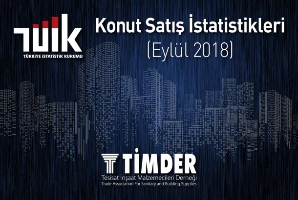 Türkiye'de 2018 Eylül Ayında 127 327 Konut Satıldı
