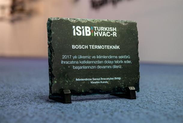 Manisa'dan 41 Ülkeye İhracat Yapan  Bosch Termoteknik'e Ödül