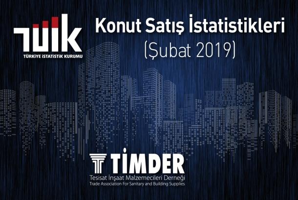 Türkiye'de 2019 Şubat Ayında 78 450 Konut Satıldı