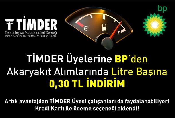 TİMDER Üyeleri BP İle Artık Daha Çok Kazanıyor