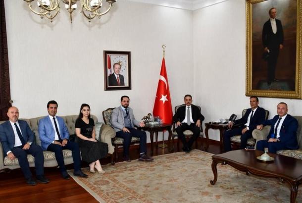 Konya Valisi Ziyareti