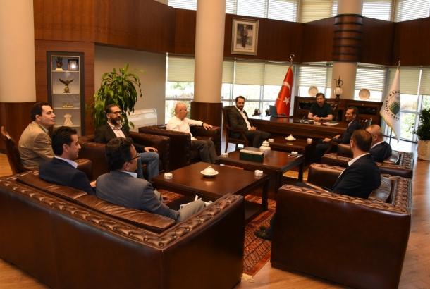 Karatay Belediye Başkanı  Ziyareti