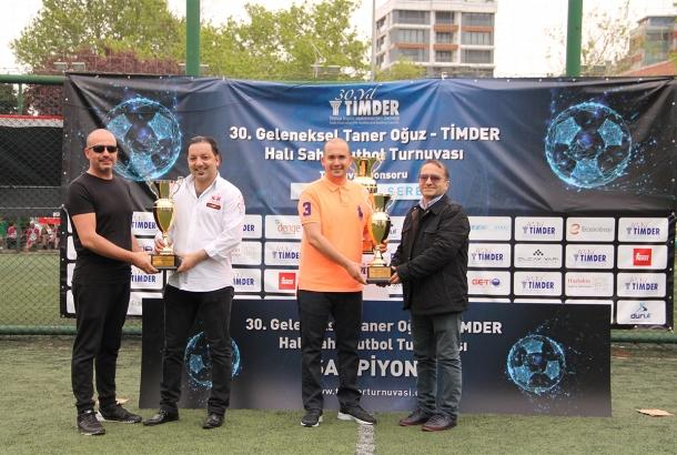 30. Geleneksel Taner Oğuz - TİMDER Halı Saha Futbol Turnuvası Tamamlandı