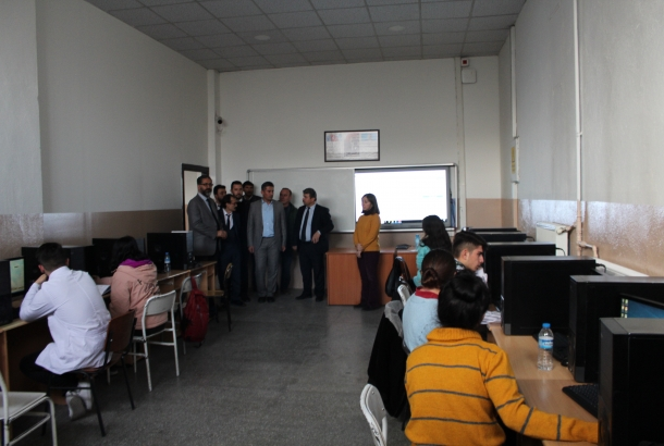 KONTİMDER, Fatih Mesleki ve Teknik Anadolu Lisesi'ni ziyaret etti.