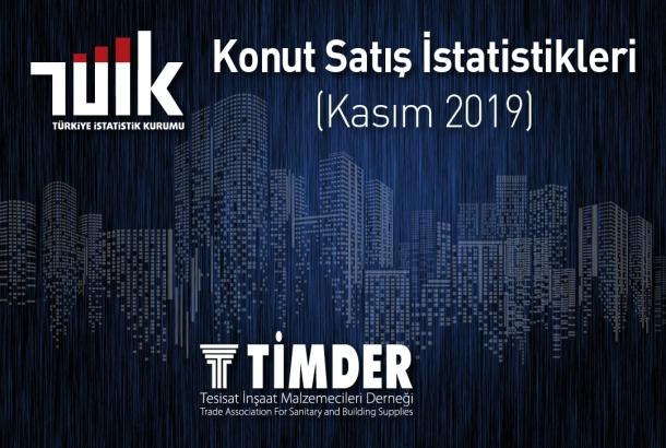 Türkiye'de 2019 Kasım Ayında 138 372 Konut Satıldı