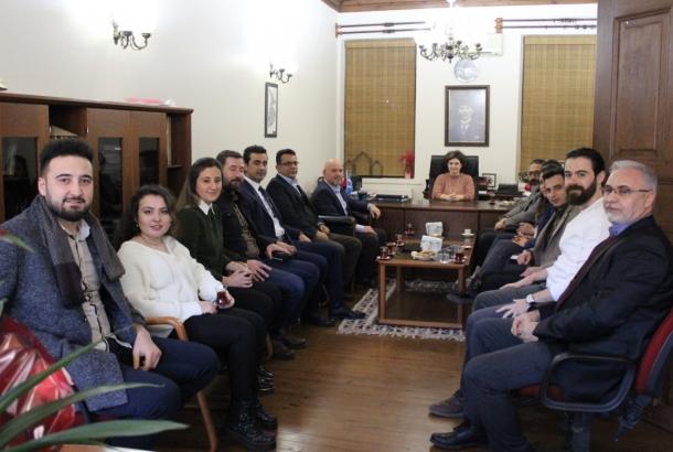 Mimarlar Odası Konya Şubesi Yönetim Kurulunu ziyaret ettik.