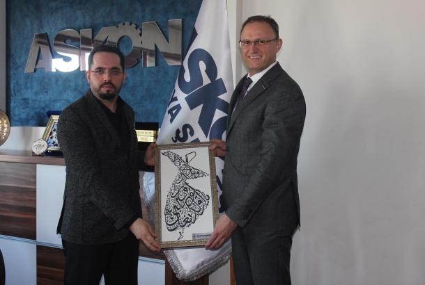 ASKON Konya Şubesi Yönetim Kurulu Başkanı Atilla Sinacı'yı ziyaret ettik