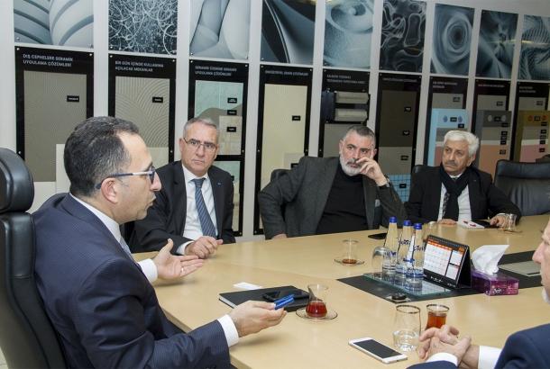 TİMDER Yönetim Kurulu, Kalekim Genel Müdürü Timur Karaoğlu'nu Ziyaret Etti