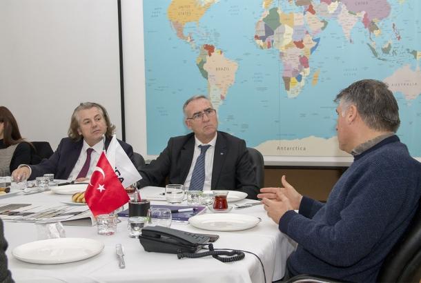 TİMDER Yönetim Kurulu, Sanica'yı Ziyaret Etti