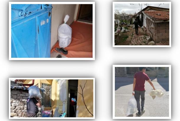 PAYLAŞMA ZAMANI KONTİMDER Yönetim Kurulu Üyeleri ihtiyaç sahiplerini evlerinde ziyaret ederek gıda ve nakdi yardım yaptılar.