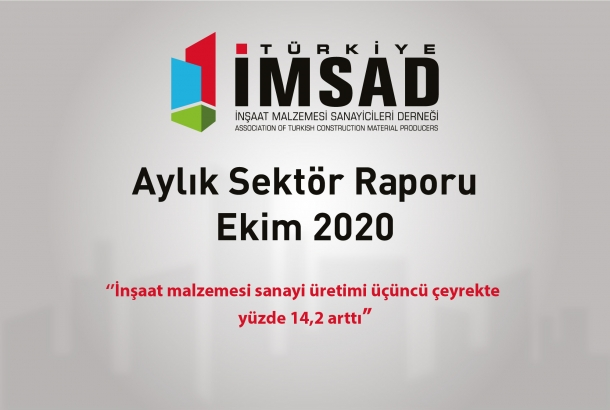 Türkiye İMSAD Ekim 2020 Sektör Raporu Açıklandı