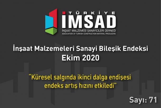 'Türkiye İMSAD İnşaat Malzemeleri Sanayi Bileşik Endeksi' Ekim Ayı Sonuçları Açıklandı
