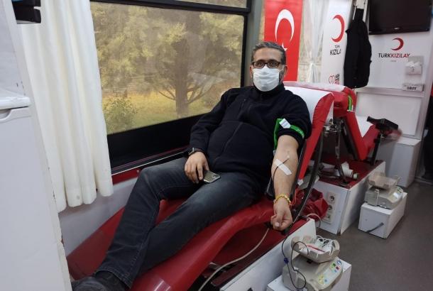 KONTİMDER Yönetim Kurulu Üyeleri Kan Bağışı Kampanyasına destek verdiler