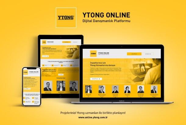 """Ytong'un Dijital Danışmanlık Platformu """"Ytong Online"""" Açıldı"""