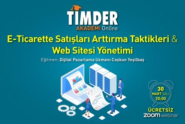 E-Ticarette Satışları Arttırma Taktikleri ve Web Sitesi Yönetimi