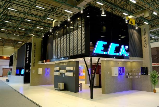 E.C.A. Yeni Ürünü Elektrikli Kombiyle  ISK-SODEX Fuarı'na Damga Vurdu