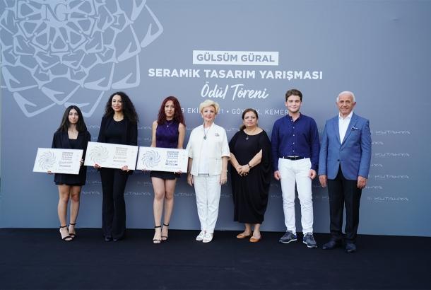 """NG Kütahya Seramik """"Gülsüm Güral Seramik Tasarım Yarışması Ödülleri"""" Sahiplerini Buldu"""