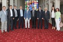 TİMDER Yönetim Kurulu İBB Genel Sekreteri Dr. Hayri Baraçlı'yı Ziyaret Etti