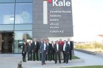 TİMDER Yönetim Kurulu Üyeleri Ankara'da Funda A.Ş.'yi Ziyaret Etti